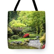 Bridge To Tranquility Tote Bag