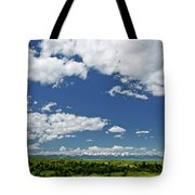 Bridger Mountain View Tote Bag