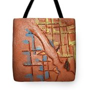 Bridges  - Tile Tote Bag