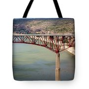 Bridging The Canyon Tote Bag