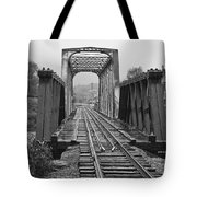 Bridging The River Tote Bag