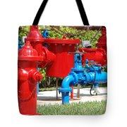 Bright Colored Machanics Tote Bag