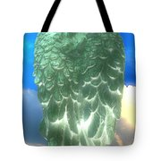 Bright Glow Angle Wings Tote Bag