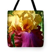 Bright Iris Tote Bag