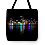 Bright Lights Big City Tote Bag