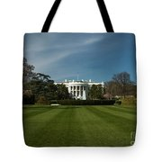 Bright Spring Day At The White House Tote Bag