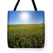 Bright Sun And Bloom Stage Mustard Tote Bag