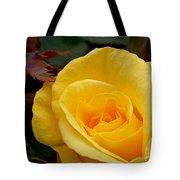 Bright Yellow Rose Tote Bag