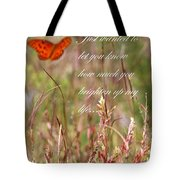 Brighten Up My Life Card Tote Bag