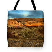 Brightly Painted Hills Tote Bag
