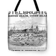 Brighton Beach Hotel, 1880 Tote Bag