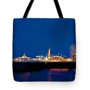Brighton Palace Pier Tote Bag