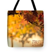 Brilliant Autumn Color Tote Bag