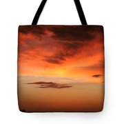 Brilliant Sunrise Over Montevideo Tote Bag