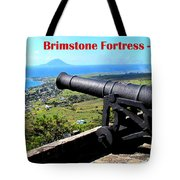 Brimstone Fortress Poster Tote Bag