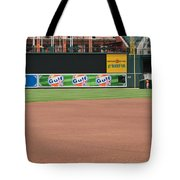 Bringing Out The Batting Cage Tote Bag