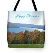 Bristol Harbor Birthday  Tote Bag