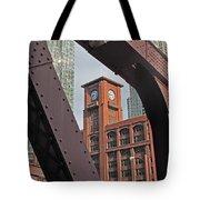Britannica Building Chicago Illinois Tote Bag