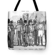 British Army, 1855 Tote Bag
