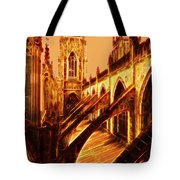 British Christian Cathedral  Tote Bag