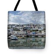 Brixham Harbour - Panorama Tote Bag