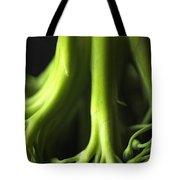 Broccoli Abstract Tote Bag