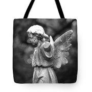 Broken Angel Bw Tote Bag