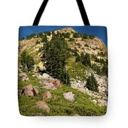 Brokeoff Mountain Tote Bag