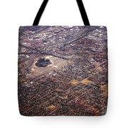 Broncos Stadium Aerial Tote Bag