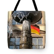Bronze Fountain Tote Bag