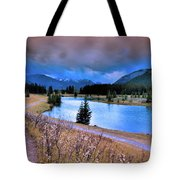 Brooding Skies Tote Bag