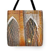 Brooklyn Bridge Arch Tote Bag