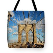 Brooklyn Bridge Summer Tote Bag