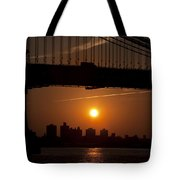 Brooklyn Bridge Sunrise Tote Bag
