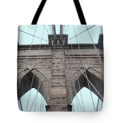 Brooklyn In Blue Tote Bag