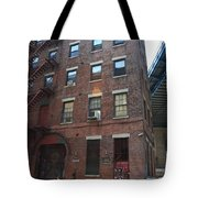 Brooklyn New York - 126 Front Street. Tote Bag