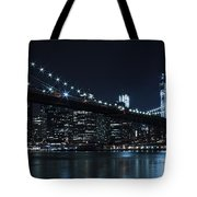 Brooklyn Nights Tote Bag