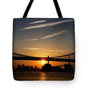 Brooklyn Sunrise Tote Bag