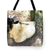 Brown Goat  Tote Bag