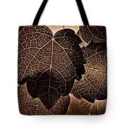 Brown Ivy Tote Bag