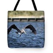 Brown Pelican - Low Flyer Tote Bag