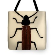 Brown Spruce Longhorn Beetle Tote Bag