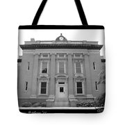 Brunswick Historical Court House Tote Bag