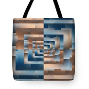 Brushed 13 Tote Bag by Tim Allen