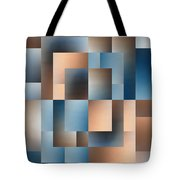 Brushed 14 Tote Bag by Tim Allen