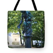 Brussels Royal Garden Fountain Tote Bag