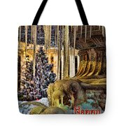 Bryant Park Fountain Holiday Tote Bag