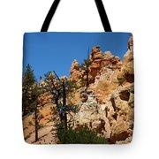 Bryce Canyon Santa Clause Tote Bag