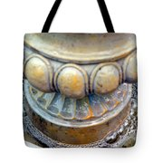 Bubble Beaded Necklace Tote Bag