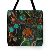 Bubble Tree - Spc01ct04 - Left Tote Bag